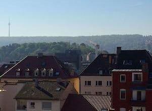 Auf diesem Bild ist Stuttgart, die Stadt, die als am stressfreisten gilt.