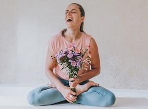 Gemeinsam feiern zum 1jährigen unseres Yoga Studios in Stuttgart West.