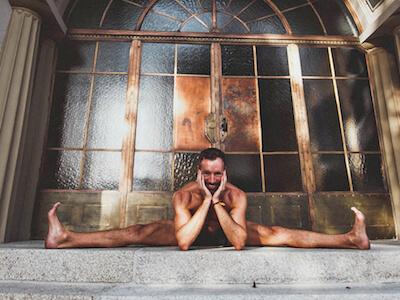 Yogalehrer Fabian bietet am 13.06. einen Vagus-Nerv-Workshop in Stuttgart West
