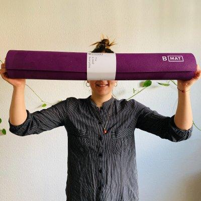 Yogalehrerin Louisa testet Reise-Yogamatten und gibt ihr Fazit